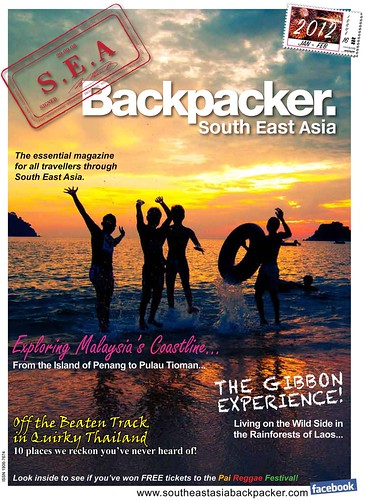 SEA Backpacker Mag Cover