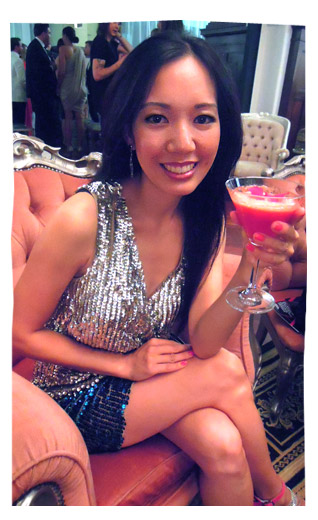 Sparkling it up at the WA Fashion Awards 2012