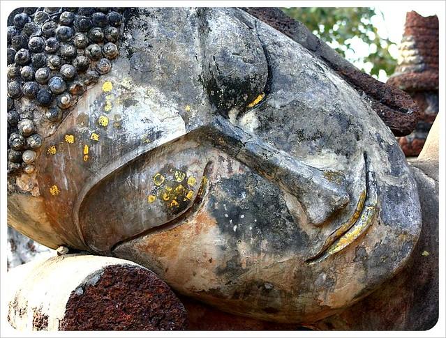 big buddha face kamphaeng phet