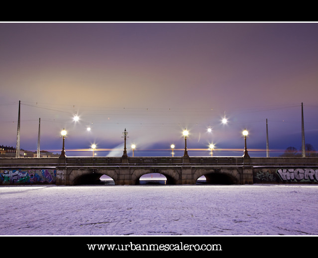 Copenhagen [Denmark] -  Missing Light On Queen Louise's Bridge