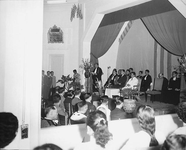 Huế 1957 - Lễ khánh thành Viện ĐH Huế
