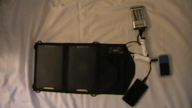 solar system charging stuff