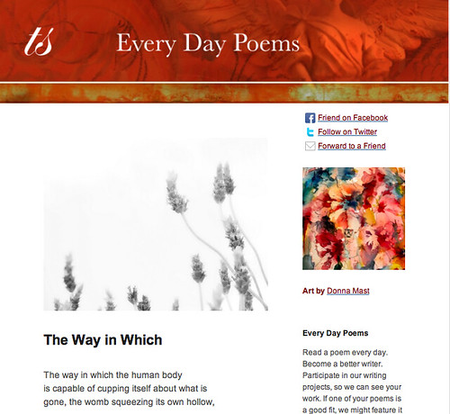 Every Day Poems The Way in Which