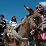 Transvestite Wedding and Donkey for Mardi Gras - San Martin Tilcajete, Mexico