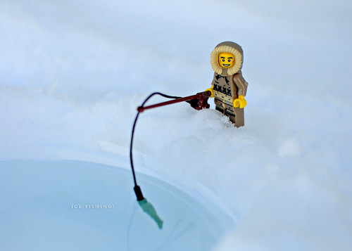 "54/366 - ""Ice fishing!"""