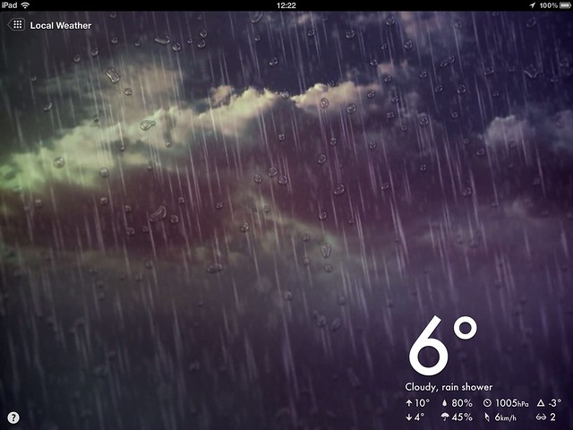 Magical Weather on iPad