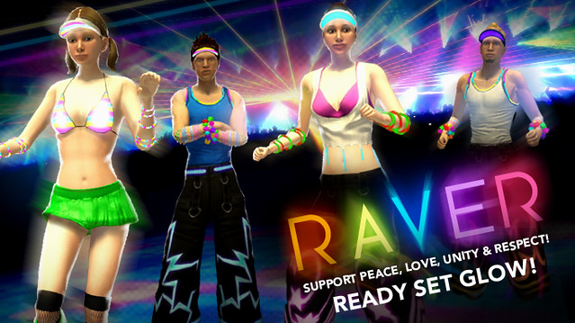 PlayStation Home: Konami's Raver Collection