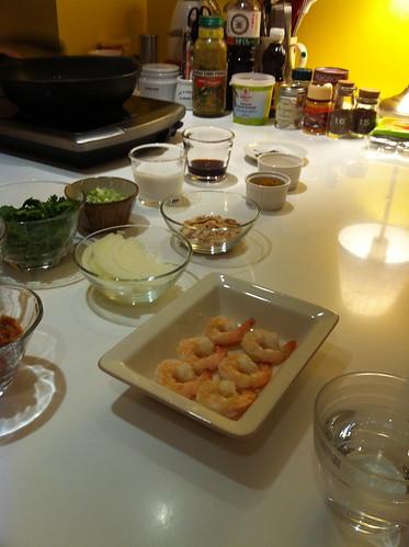 鳳梨蝦仁咖哩炒飯