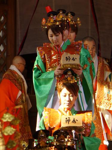 大本山 中山寺の星祭り節分会