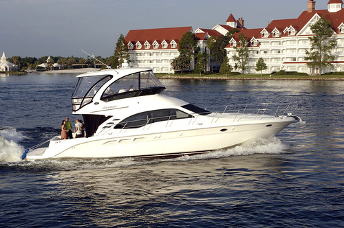 Private yacht at Walt Disney World
