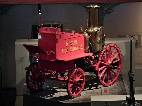 1896 Merryweather horse drawn steam fire pump