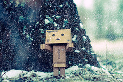 [Free Images] Objects, Toys, Dolls, Yotsuba&!, Danbo, Snow ID:201203051800