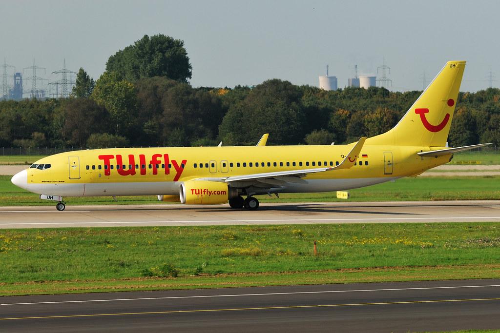 D-ATUH - B738 - TUI fly