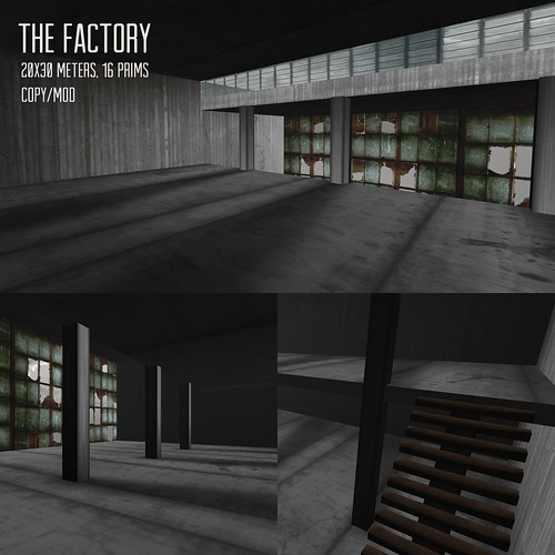 A:S:S - The Factory, skybox for lazy sunday by Photos Nikolaidis