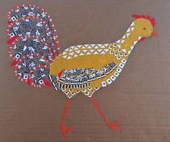 Chicken Collage Day 18 (Mar. 3 2012) by randubnick