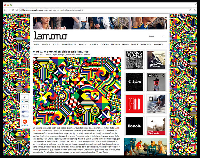 Lamono : Interview & Pattern.