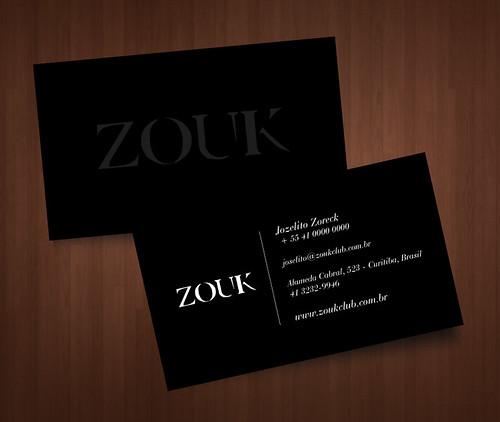 Cartão - Zouk Club by chambe.com.br