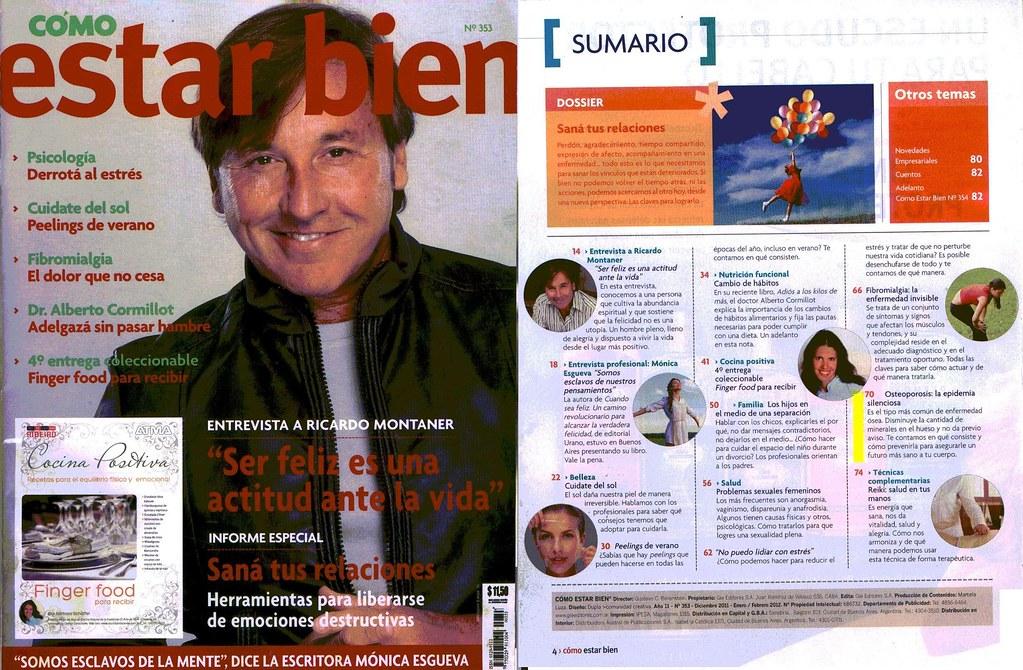 Revista Cómo Estar Bien Enero 2012 (1)