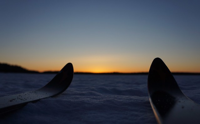 Sunset 'n' Skis