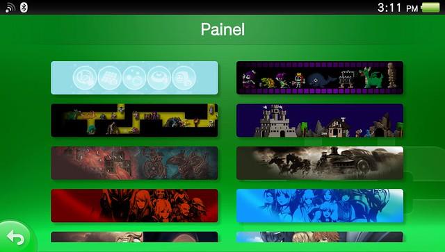 Como personalizar o painel da PSN no PS Vita