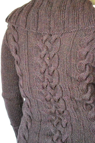 Meg's Sweater - Detail