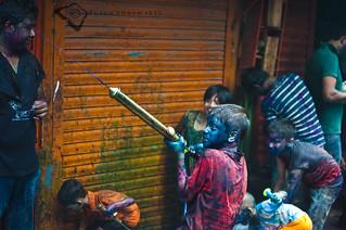 The Holi Attack !