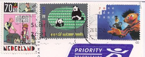 Netherland Stamps-Bert & Ernie
