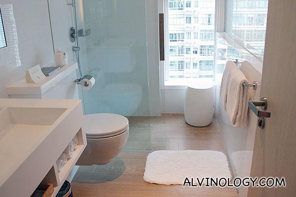 Cosy little bathroom