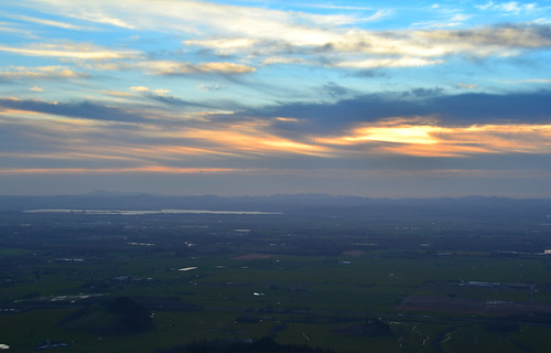 sunset oregon nikon 3100 bluefilter