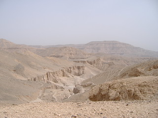 View into the Valley of the Kings