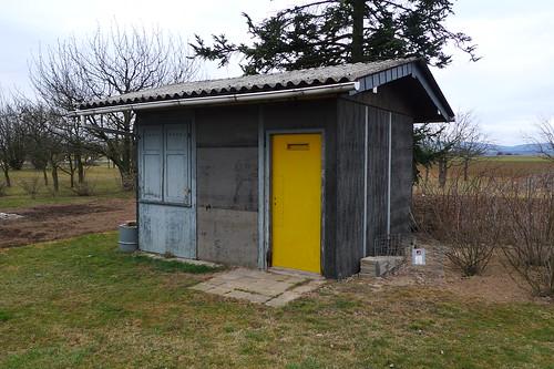 Kleingarten Hütte bei Nieder Erlenbach 2012