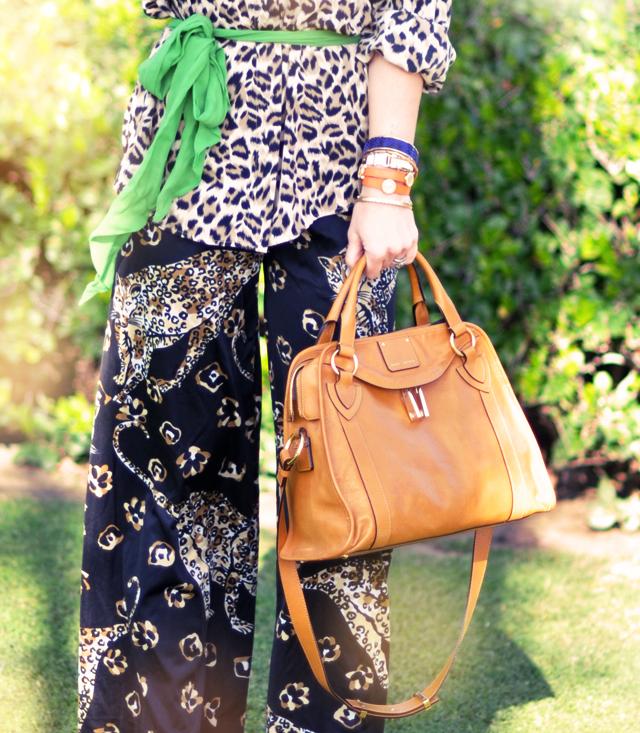 pajama fashion- leopard print-marc jacobs-vintage