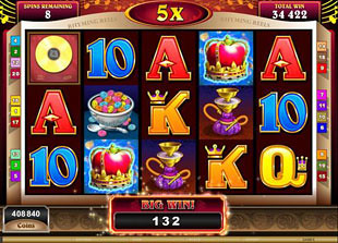 Rhyming Reels Old King Cole free spins