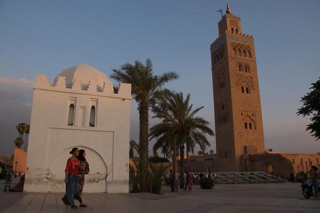 Koutoubia Mosque in Marrakech Morocco