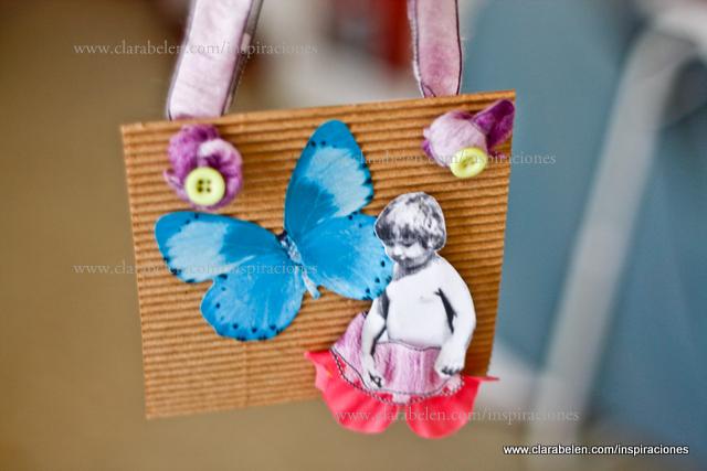 Inspiraciones manualidades y reciclaje lbum casero mariposas y fotos 3d - Manualidades album de fotos casero ...