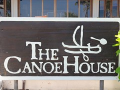 ハワイ島のレストラン・カヌーハウス
