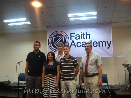 Faith Academy Staff and Kirk Long