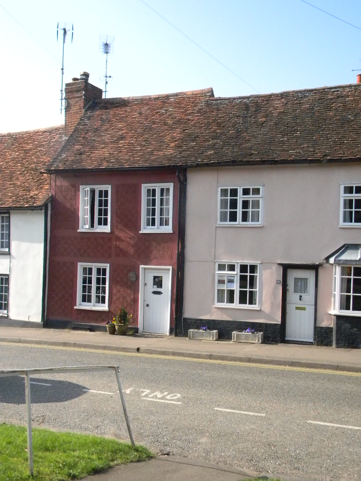 More pargeting Saffron Walden. Great Chesterford to Newport