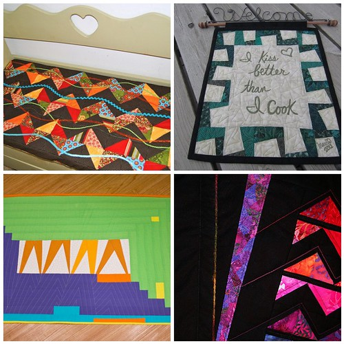 Project QUILTING: Season 3, Challenge 6 - Ziggin & a Zaggin, a Closer Look, Part 4