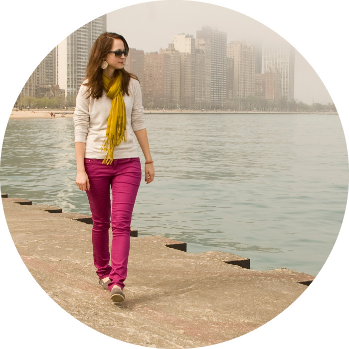 dash dot dotty, ootd, outfit blog, magenta pants, magenta jeans, bright pants, how to wear bright pants