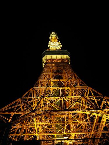 夜の東京タワー (Tokyo Tower)