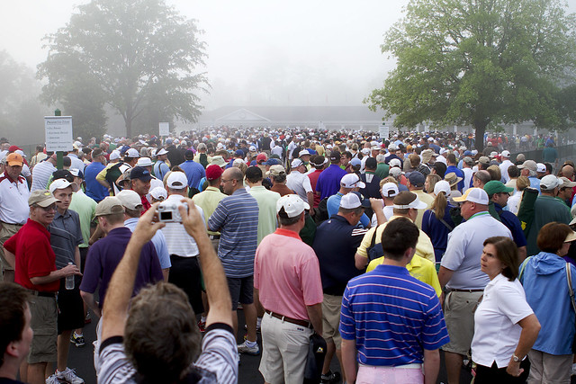 augusta line to get on course
