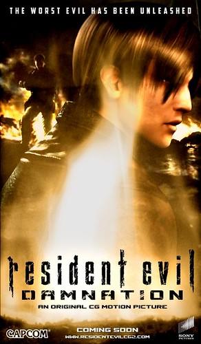 120420(2) - 3D立體全CG劇場版《惡靈古堡:詛咒 BIOHAZARD Damnation》將在10/27上映!