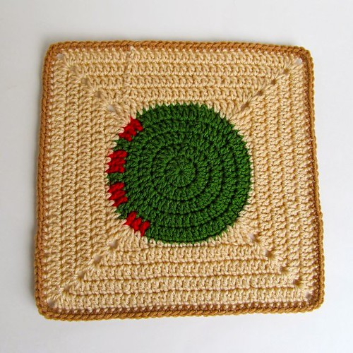 Tantra Song Inspired Crochet Block-2