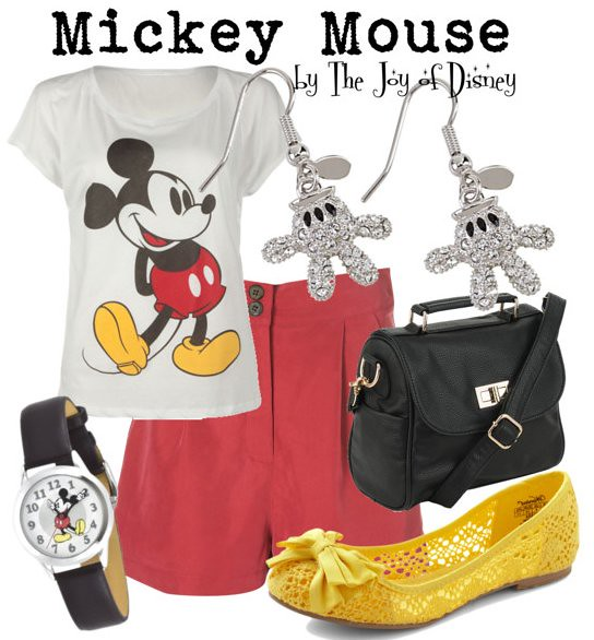 Inspired by: Mickey Mouse