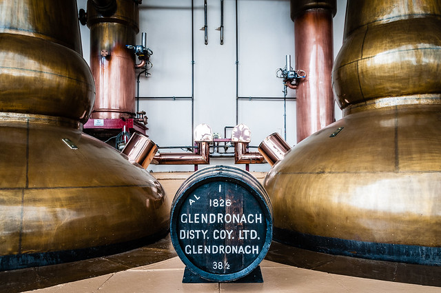 GlenDronach Copper Pot Stills