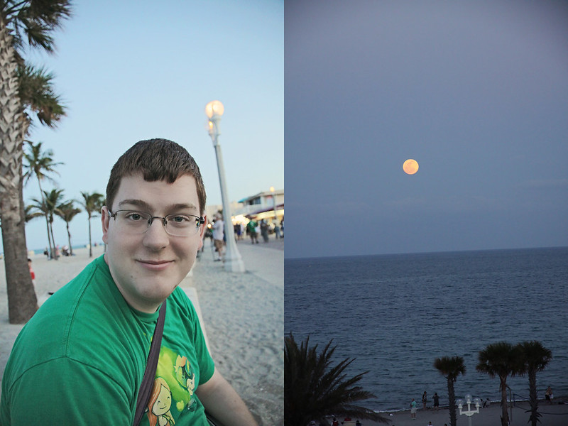 supermoon Doug diptych