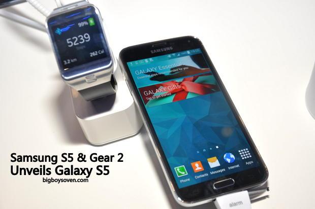 Samsung unveils Galaxy S5 6