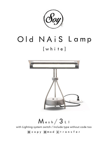 Soy. Old NAiS Lamp [white]
