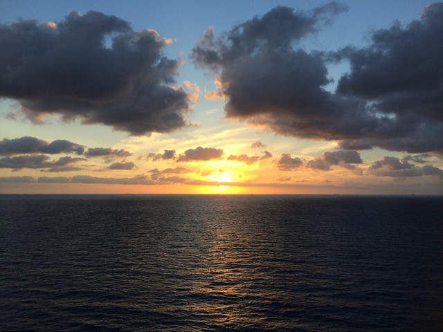 Royal Caribbean sunset